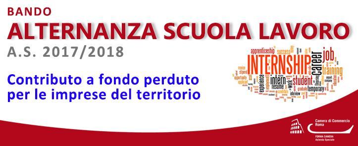 Bando Alternanza Scuola – Lavoro A.S. 2017/2018