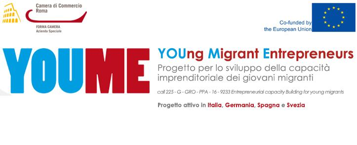 YOU-ME – YOUNG MIGRANT ENTREPRENEURS